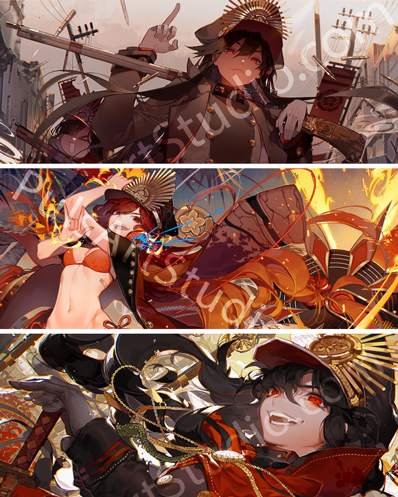 Fate ♥ Nobunaga 3x Poster Bundle!