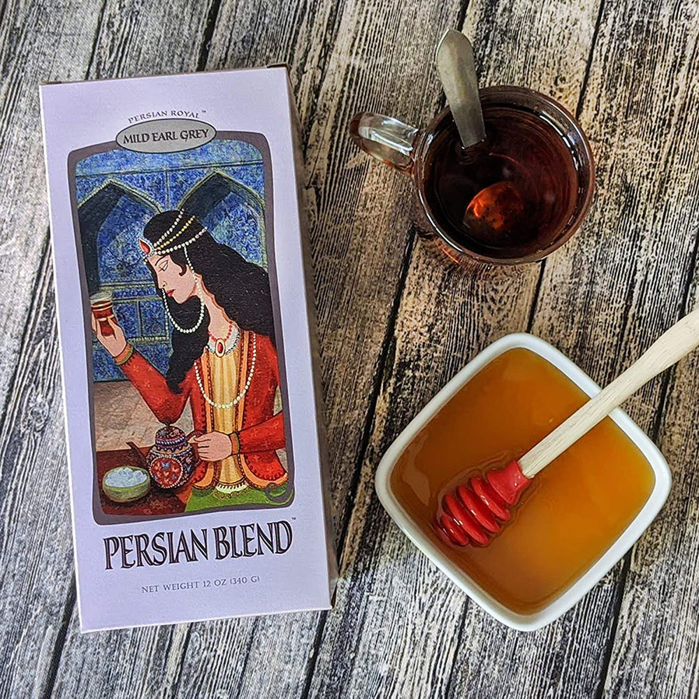 Load image into Gallery viewer, Persian Blend Mild Earl Grey - Persian Royal Tea Company