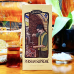 Persian Supreme bold black tea made with leaves from Ceylon and India for rich red color