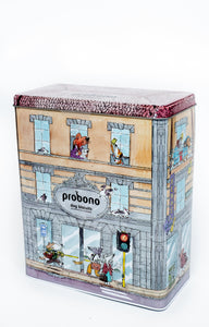 Probono Biscuits - Promotional Tin with 1KG assorted flavours
