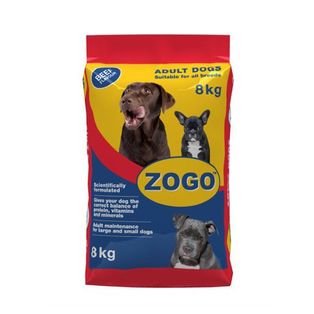 Zogo  Dog Food - Beef Flavour