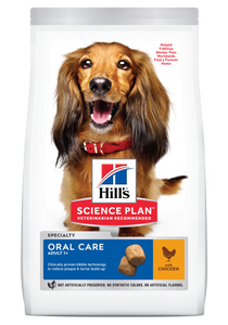 Hill's™ Science Plan™ Canine Adult Oral Care Chicken (2kg) - Woofworths Premium Online Pet Supplies