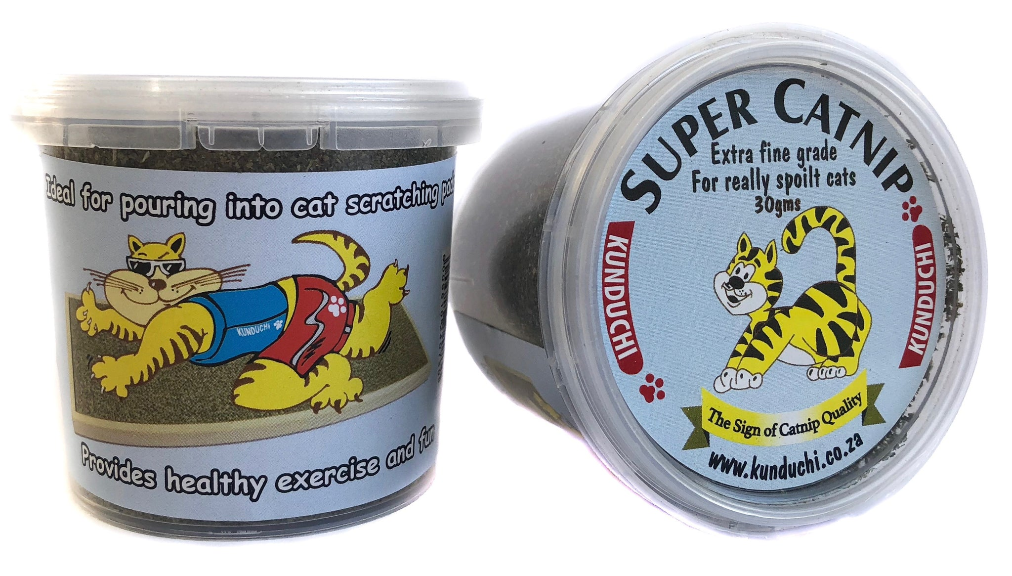 Kunduchi - Super Catnip Powder Tubs - Fine 30gms