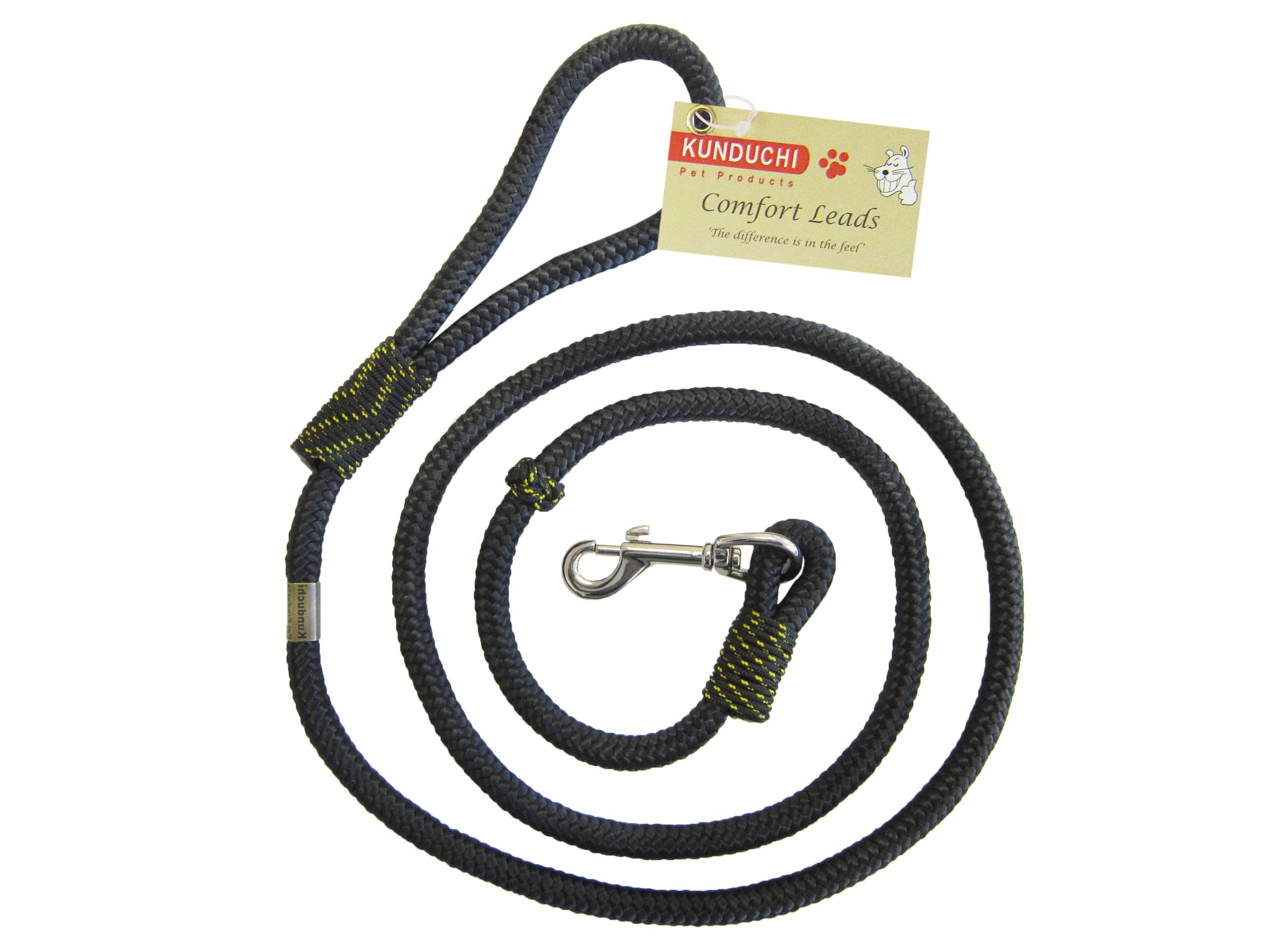 Kunduchi -Comfort Lead with Clip (1,6m long/10mm Diameter)