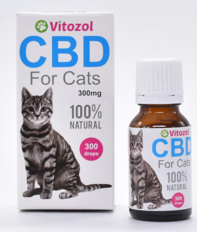 Vitozol CBD Oil for Cats - Woofworths Premium Online Pet Supplies
