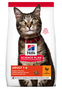 Hills Science Plan- Feline - Dry Food - Adult - Chicken - Woofworths Premium Online Pet Supplies