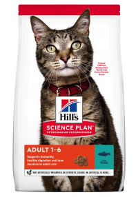 Hills Science Plan- Feline - Dry Food - Adult - Tuna - Woofworths Premium Online Pet Supplies