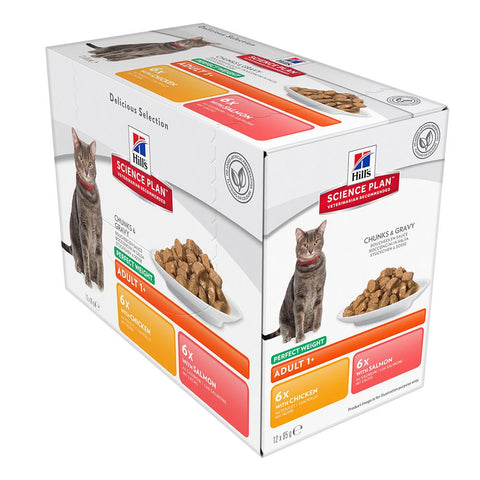 Hill's Science Plan - Perfect Weight - Wet Food - 85g Pouch - Woofworths Premium Online Pet Supplies