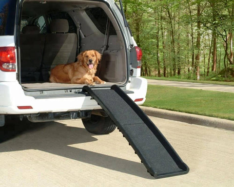 Folded Plastic Pet Ramp