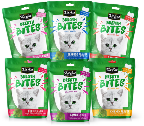 Kit Cat - Breath Bites - 60g - Woofworths Premium Online Pet Supplies