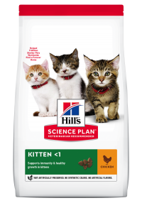 Hills Science Plan- Feline - Dry Food - Kitten- Chicken - Woofworths Premium Online Pet Supplies
