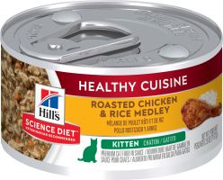 Hills Science Plan- Feline - Wet Food - Kitten- Chicken and Rice (79g Stew) - Woofworths Premium Online Pet Supplies