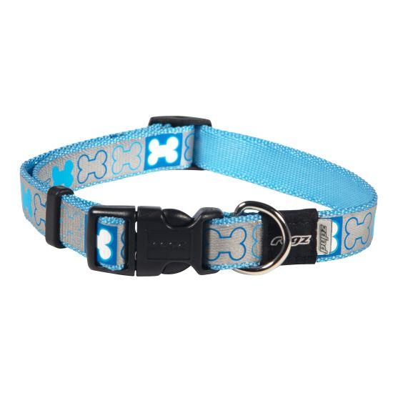 Rogz - Pupz - Reflecto - Side Release Collar - Woofworths Premium Online Pet Supplies