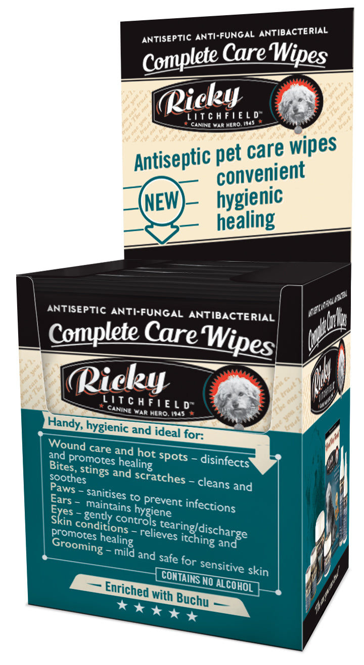 Ricky Litchfield - Complete Care Wipes (10 wipes)