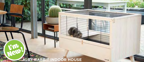 ALBY RABBIT INDOOR HOUSE - Woofworths Premium Online Pet Supplies