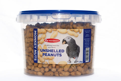 Westermans - Unshelled Peanuts - 1.5kg - Woofworths Premium Online Pet Supplies