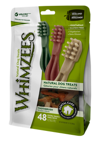 Whimzees - Toothbrush - X Small -  Value Pack - 48pc - Woofworths Premium Online Pet Supplies