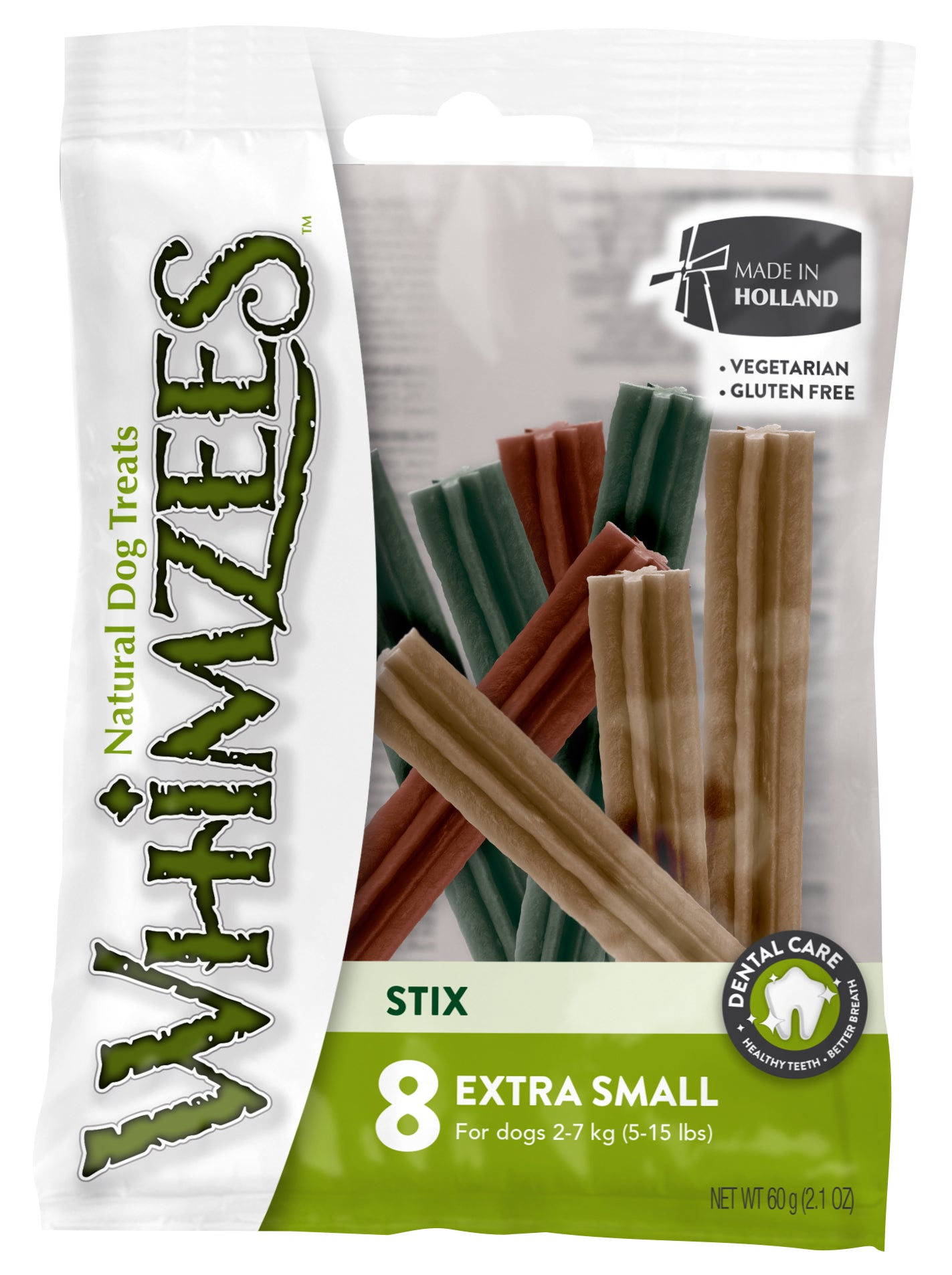 Whimzees - Stix - Assortment - 8 Pc Flowpack - X-Small - Woofworths Premium Online Pet Supplies