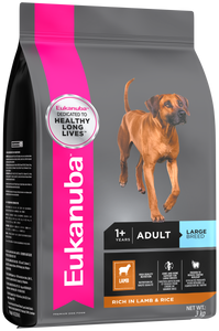 Eukanuba Adult Large Breed - Lamb and Rice - Woofworths Premium Online Pet Supplies