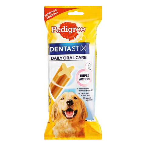 Pedigree -Denta Stix Large (7pcs) 270g - Woofworths Premium Online Pet Supplies