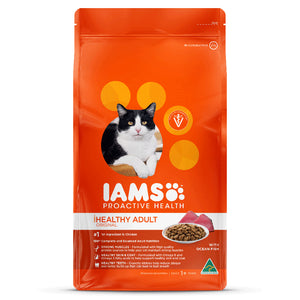 IAMS - Healthy Adult - Ocean Fish - Woofworths Premium Online Pet Supplies