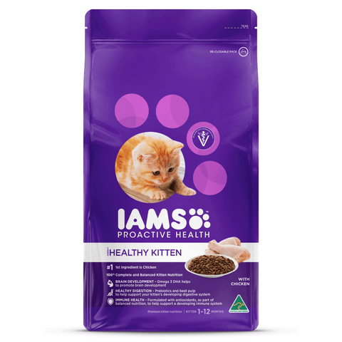 IAMS - Healthy Kitten - Chicken - Woofworths Premium Online Pet Supplies