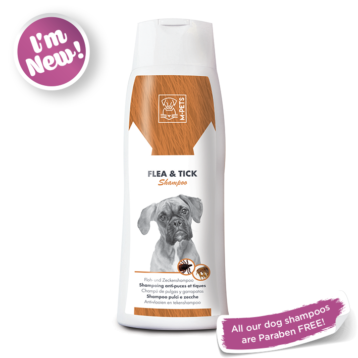 MPets - Flea and Tick Shampoo - Woofworths Premium Online Pet Supplies