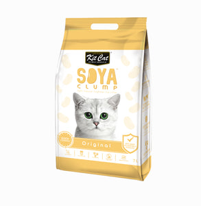 Kit Cat - Soya Clump Cat Litter - 2,8kg- Original - Woofworths Premium Online Pet Supplies