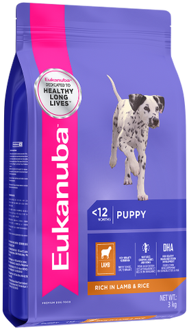 Eukanuba Puppy Small/Medium Breed - Lamb & Rice - Woofworths Premium Online Pet Supplies