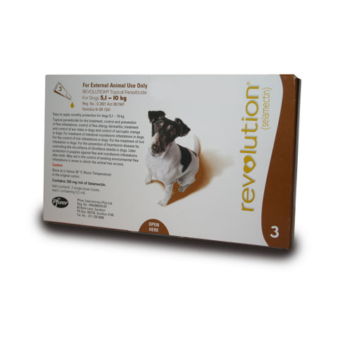 Revolution Dog - 5.1kg - 10kg - Brown - Woofworths Premium Online Pet Supplies
