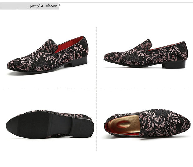 Classic Embroidery Pattern Footwear - Shappyr Supply