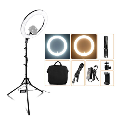 capsaver 14 inch 18 inch Ring Light LED Video Light Makeup Lamp with Tripod Stand TL-160S TL-600S L4500 RL-12A RL-18A - Shappyr Supply