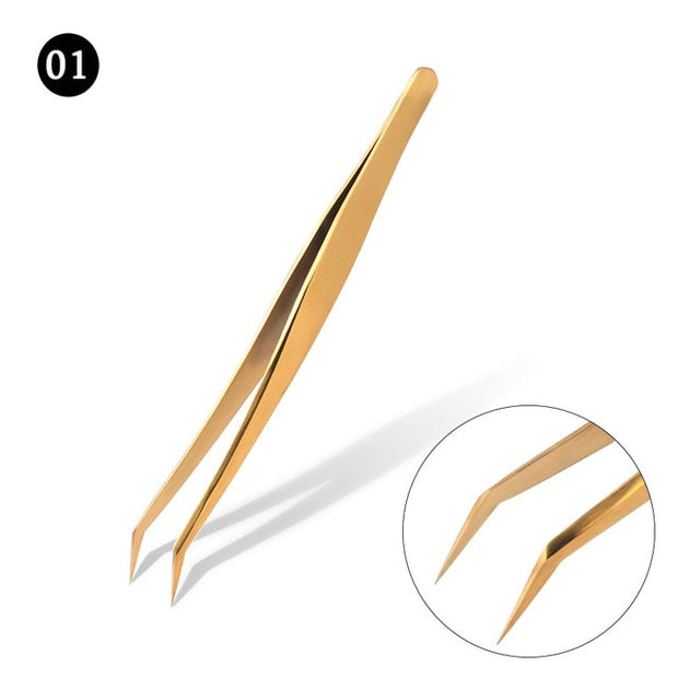 Professional Eyelashes Tweezers For Lashes Extension