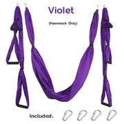 Yoga Hammock Gym Strength Inversion Anti-Gravity Aerial Traction Swing Yoga Belt