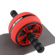 Large Silent TPR Abdominal Wheel Roller Trainer Fitness Equipment Gym Home Exercise Body Building Ab roller