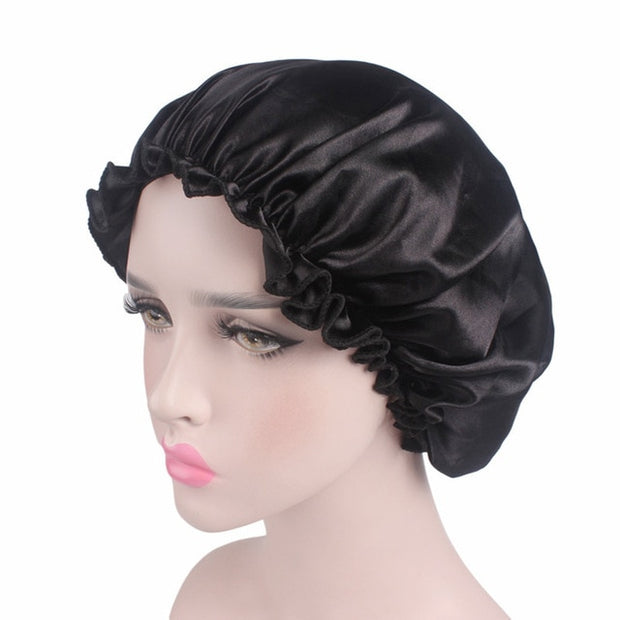 Hair Satin Bonnet For Sleeping Shower Cap - Shappyr Supply