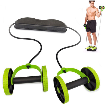 Ab Roller Wheel Abdominal Exercise Ab Wheel Equipment for Home Workouts Abdominal Trainer Body Muscles Core Workout