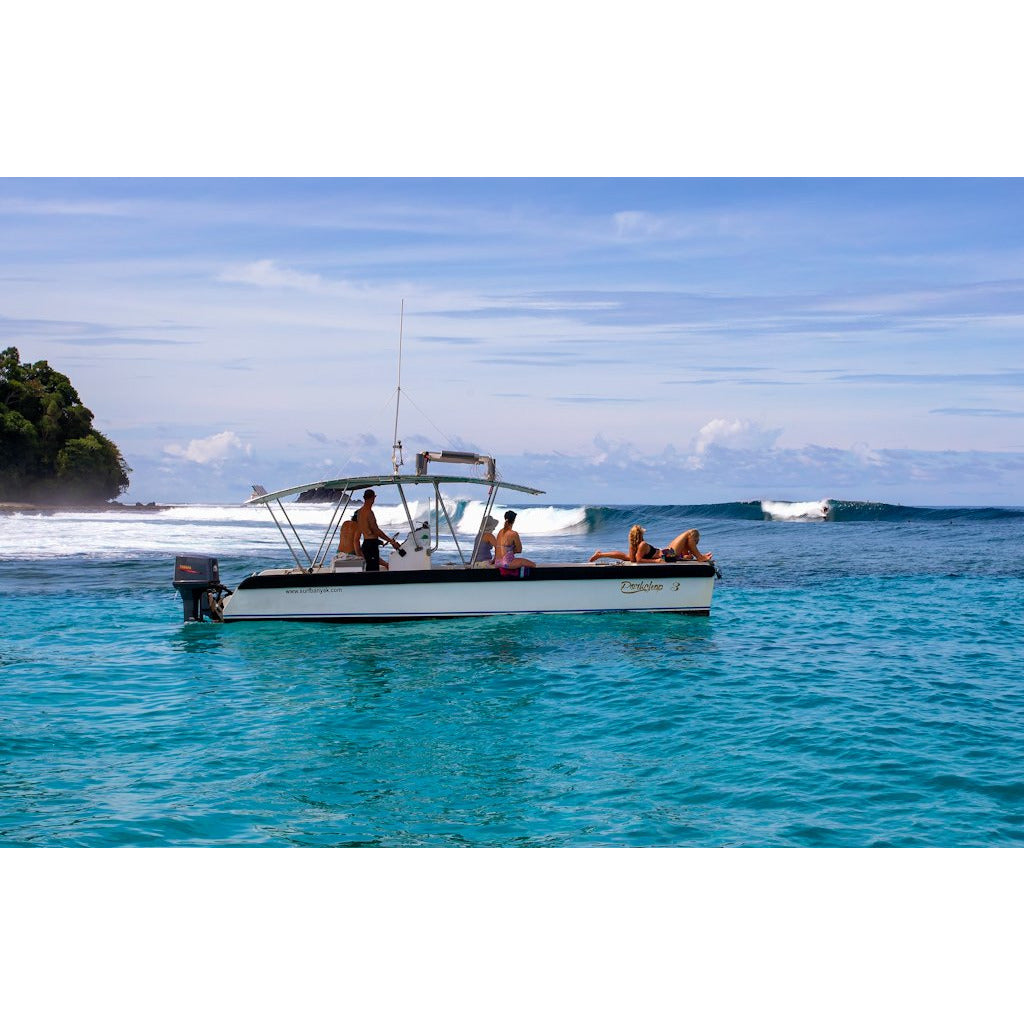 Surf Banyaks - The Seriti - Your uncrowded surf charter solution