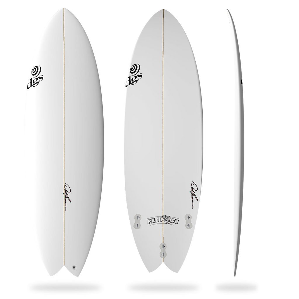 DGS The Pro-Fish Surfboard (FCS II)