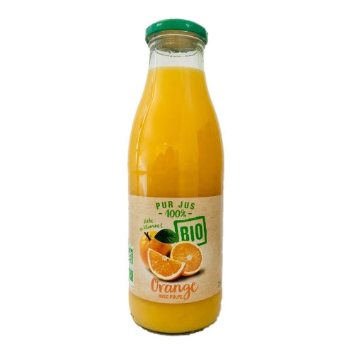 Pur jus d'orange 75cl avec pulpe