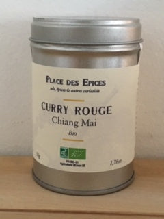 Curry rouge thaïlandais