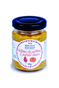 Tartinable - Tartine Potiron Patate douce bio - 90g