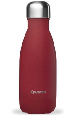 Bouteille isotherme 260ml granit rouge