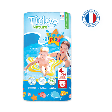 Culottes de bain single pack t4 / m (8-15kg)