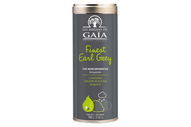 Thé noir finest Earl Grey bergamote - Tube 100g