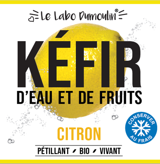 Kéfir citron - 75cl