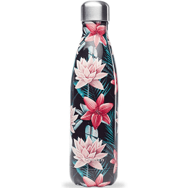Bouteille isotherme 500ml Tropical noir