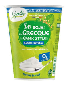 So Soja nature à la grecque 400g