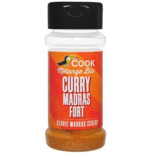 Curry Madras fort - 35g
