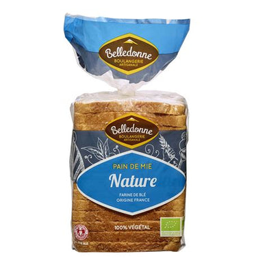 Pain de mie nature - 500g